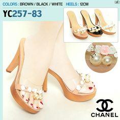 Chanel Heels YC257-83 Heels 12cm 35-40 285rb