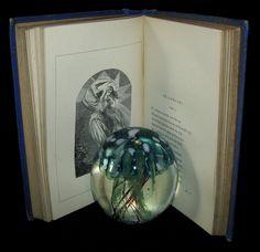 1877 Rare Book - Poems by Edgar Allan POE (The Raven, Lenore, Ulalume, – MFLIBRA - Antique Books