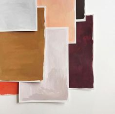 Mid century modern color palette.
