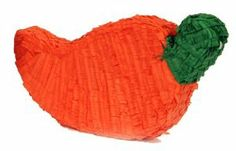 "Chile Pepper Mexican Fiesta Pinata by Aztec Imports. $15.11. 20x10x4 quot;. Suggested for 8 guests. Spice up the party with this quot;hot quot; pinata!. To add that special Mexican fiesta flavor have one of these red Chile pinatas at your next western party. Adequate space for candies/toys. Measures: 20x10x4""."