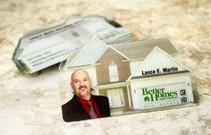 House Shaped Business Card