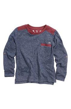 Mega lækre Name it T-shirt Nanker  Marine Vinrød Name it T-shirt til Børn & teenager i luksus kvalitet
