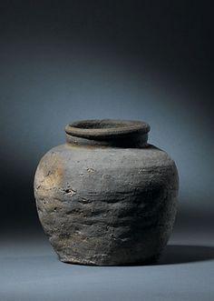 Bizen japanische Keramik tsubo