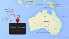 """2014 Apr 7 . """"Malaysia Airlines Flight 370: A """"most promising lead"""" in search area"""" 2 separate pings."""