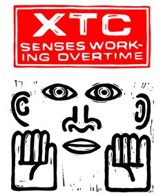 XTC Senses Working Overtime T-Shirt by 23tees on Etsy