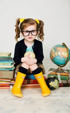 Sapphire's best friend Romy Rose, has a rather bookish style, but has no problem scoring the cover of Baby Vogue.