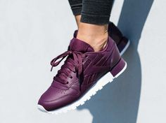 Reebok Classic Leather Matte Shine Maroon