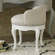 Bellamy Swivel Vanity Seat & Signaling the return to glamour the Mora vanity chair by Safavieh ... islam-shia.org