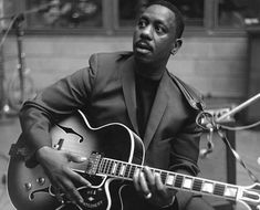 """John Leslie """"Wes"""" Montgomery with L5ces ♢custom (March 6, 1923 – June 15, 1968)"""