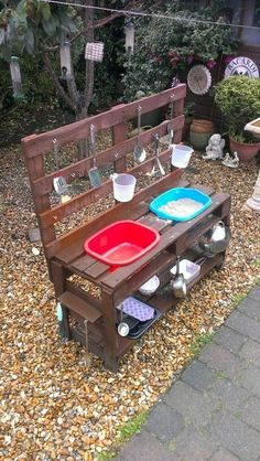 kids play area awesome 75 Fantastic Backyard Kids Garden Ideas for Outdoor Summer Play Area - Decoradeas Backyard for kids outdoor play areas Outdoor Play Kitchen, Mud Kitchen For Kids, Kids Outdoor Play, Outdoor Play Areas, Kids Play Area, Outdoor Playground, Backyard For Kids, Diy Mud Kitchen, Backyard Patio