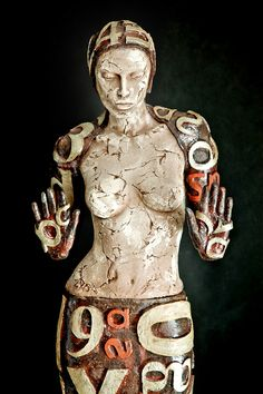 Marek Zyga, bold ceramic sculpture in Poland - Figurative Artist Art Dolls, Sculpture Art, Ceramic Sculpture Figurative, Ceramics, Ceramic Figures, Statue, Art, Clay Sculpture, Figurative Art