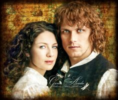 Jamie and Claire…. Voyager   Outlander Season3