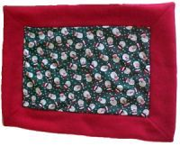 Sew a Fleece Blanket with Cotton Quilting Charm: Materials & Cutting Directions