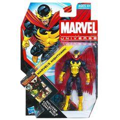 Amazon.com: Marvel Universe Marvel's Nighthawk Action Figure (Series 4): Toys & Games