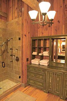 Custom Log Homes | Log Cabin House Plans | Rustic Home | http://homedesigncollections.blogspot.com