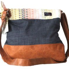 Cyndi with Genuine Leather. Better Life Bags are made by inner city women with no other marketable skills, giving women a chance to earn a living to care for their families.