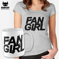 'Fangirl' design inspired by the American supernatural drama series 'Teen Wolf'. #TeenWolf