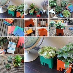 How To Make cute floppy Diskette flower pots step by step DIY tutorial instructions thumb Diy House Projects, Easy Craft Projects, Easy Crafts, Diy And Crafts, Easy Diy, Projects To Try, Craft Ideas, Decorating Your Home, Diy Home Decor