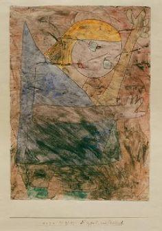 Paul Klee - Engel, noch tastend, 1939.