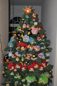 angry birds christmas idea angry birds christmas tree - Christmas Angry Birds