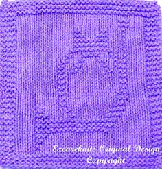 Knitting Cloth Pattern  FRENCH HORN  Instant by ezcareknits, $3.00