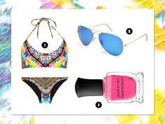 summer beauty pink nails