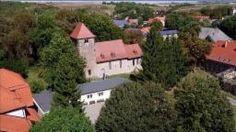 Luftbild der Heiligenthaler Sankt Andreas-Kirche., Quelle: MITTELDEUTSCHER RUNDFUNK