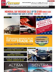 memorial day sale nissan