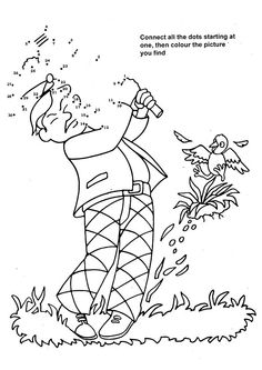 physical activities coloring pages - photo#29