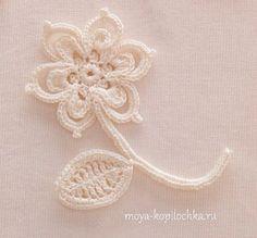 Коллекция мотивов для ирландского кружева из японского журнала Irish Crochet Lace - Вязание - Моя копилочка