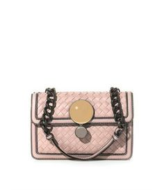 Bottega Veneta Sphere intrecciato leather shoulder