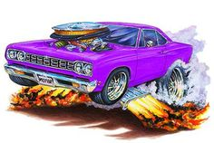cartoon muscle cars | 145207764_tp.jpg