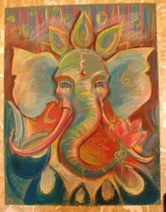 alpacapals:  piffpower:  Ganesh by ~VoodooMouse  This is beautiful