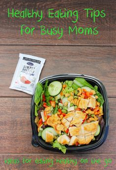 Trying to eat healthy on the go? These healthy eating tips for busy moms are great!