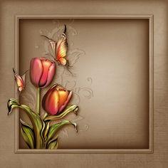 View album on Yandex. Phone Screen Wallpaper, Fall Wallpaper, Flower Wallpaper, Beautiful Flowers Wallpapers, Beautiful Artwork, Frame Background, Paper Background, Scrapbook Titles, Scrapbooking