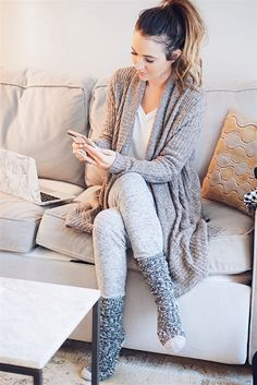 Cozy @BarefootDreams Cardigan from @QVC http://qvc.co/shopcozychic #ad