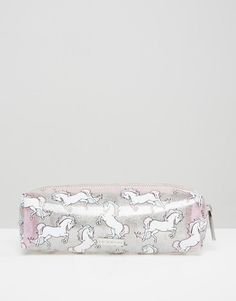 Skinnydip | Skinnydip Unicorn Pencil Case at ASOS
