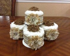 Gâteau de couches mini / élégant gâteau de par QueensDecorations