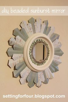 Not only would this look great in my sisters house, but she also has the skills to create it herself.