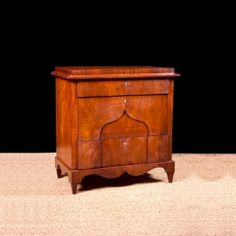 Antique Swedish Biedermeier/Empire Chest of Drawers in Mahogony, Northern Europe, c. 1820