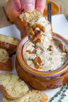 French Onion Soup Dip this dip is amazing watch it disappear!.