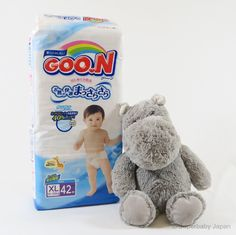 Superbaby Japan - GOO.N nappies - XLarge - 42 pieces (single pack)