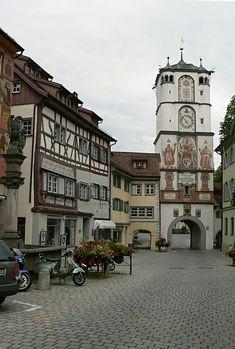 Ravensburg Gate in Wangen im Allgäu ~ Baden-Württemberg, Germany