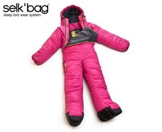 Wearable Sleeping Bag or stylish astronaut suit.  I need this for my next camping trip or space exploration.