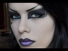 Here\'s how you need to do your make-up next Halloween ~ will look ...
