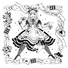 F Yeah Lolita: Lolita in Aliceland: Wonderland Inspired Coordinates