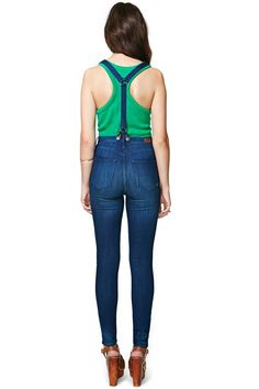 Santana Skinny Jeans with braces