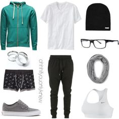 Untitled #233 by ohhhifyouonlyknew on Polyvore featuring NIKE, Neff, Forever 21, Old Navy, Jack & Jones, Blood Brother and American Eagle Outfitters