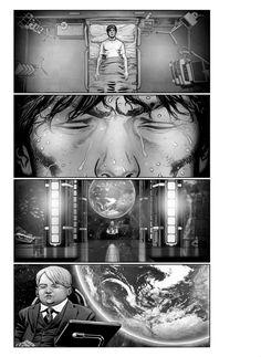 "Storyboards Chris Weston drew for Albert Hughes' live-action adaptation of Katsuhiro Otomo's classic graphic novel,""Akira"". Animation Storyboard, Animation Film, Animation Background, Art Background, Manga Artist, Comic Artist, Akira Live Action, Akira Tetsuo, Comic Panels"