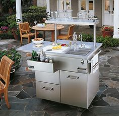 Artistic Design: NYC Fireplaces and Outdoor Kitchens » Outdoor Kitchens